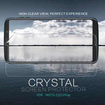 Motorola Moto Z3 Play Näytön Suojakalvo Nillkin