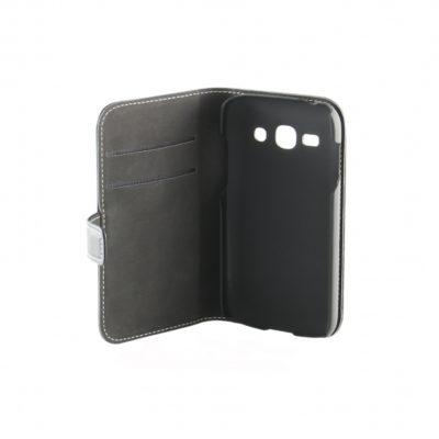 Samsung Galaxy Ace 3 Musta Nahka Läppäkotelo