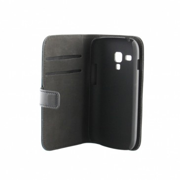 Samsung Galaxy Trend / Plus Musta Läppäkotelo