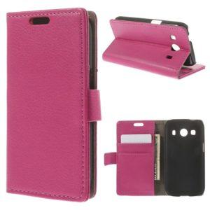 Samsung Galaxy Ace 4 Pinkki Lompakko Suojakuori