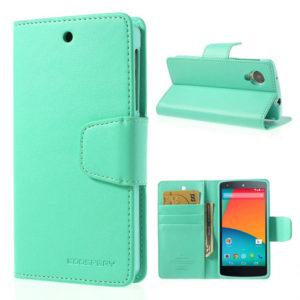 LG Nexus 5 Syaani Sonata Lompakkokotelo