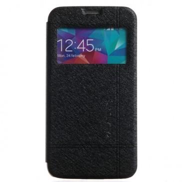 Samsung Galaxy S5 Musta KLD Ikkuna Läppäkotelo
