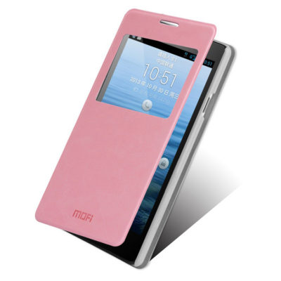 Huawei Ascend G700 V.Punainen Ikkuna Kotelo