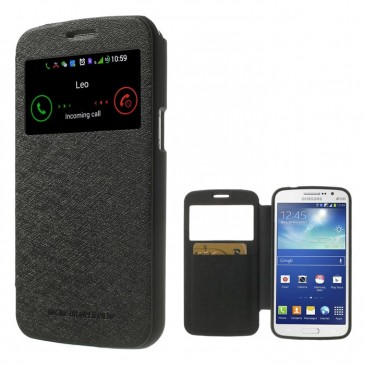 Samsung Galaxy Grand 2 Musta Ikkuna Kotelo