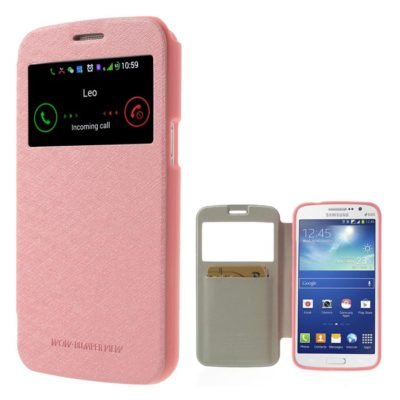 Samsung Galaxy Grand 2 V.Punainen Ikkuna Kotelo