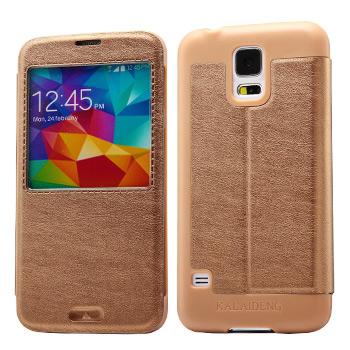 Samsung Galaxy S5 Kahvi KLD KA Suojakotelo