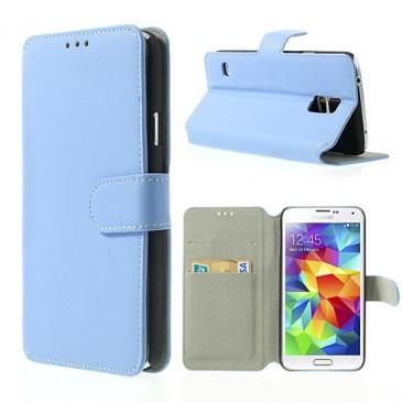 Samsung Galaxy S5 Sininen Läppä Suojakotelo
