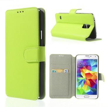 Samsung Galaxy S5 Vihreä Läppä Suojakotelo