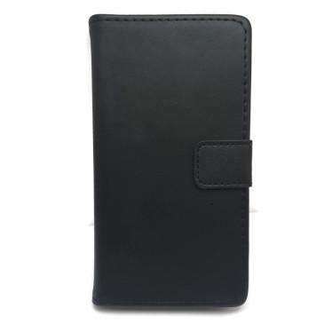 Huawei Honor 7 Lite Nahkakotelo Musta