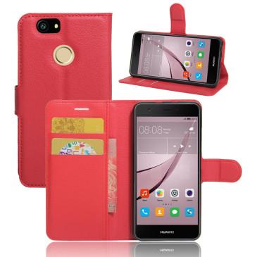 Huawei Nova Kotelo Punainen Lompakko