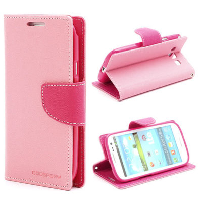 Samsung Galaxy S3 Vaaleap. Fancy Lompakkokotelo