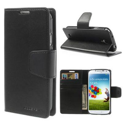 Samsung Galaxy S4 Musta Sonata Lompakkokotelo