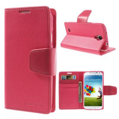 Samsung Galaxy S4 Pinkki Sonata Lompakkokotelo