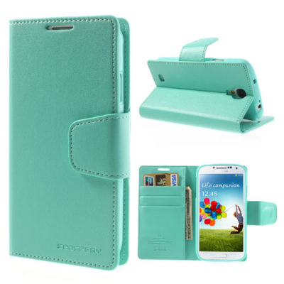 Samsung Galaxy S4 Syaani Sonata Lompakkokotelo