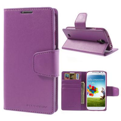 Samsung Galaxy S4 Violetti Sonata Lompakkokotelo