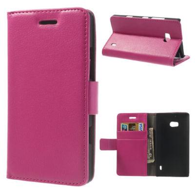 Nokia Lumia 930 Pinkki Lompakko Suojakotelo
