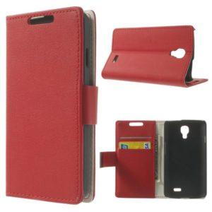 LG F70 Punainen Lompakko Suojakotelo