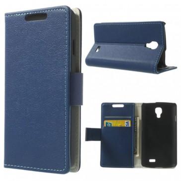 LG F70 Sininen Lompakko Suojakotelo