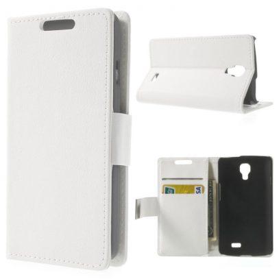 LG F70 Valkoinen Lompakko Suojakotelo