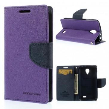 LG F70 Violetti Fancy Lompakko Suojakuori