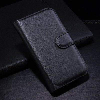 Samsung Galaxy Ace Style Musta Lompakkokotelo