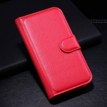 Samsung Galaxy Ace Style Punainen Lompakkokotelo