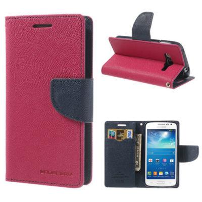 Samsung Galaxy Express 2 Pinkki Fancy Lompakkokotelo