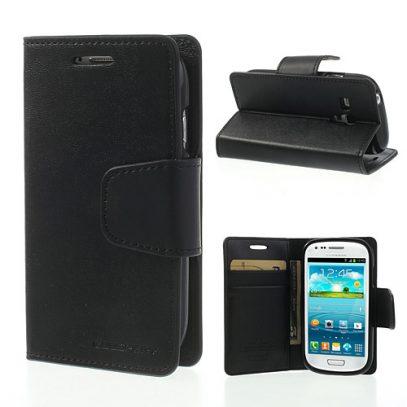 Samsung Galaxy S3 Mini Musta Sonata Suojakotelo