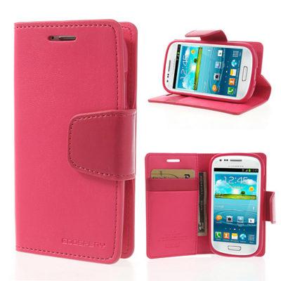 Samsung Galaxy S3 Mini Pinkki Sonata Suojakotelo