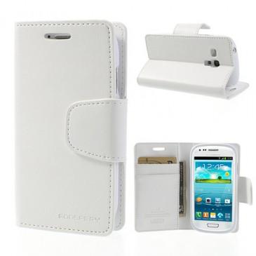 Samsung Galaxy S3 Mini Valkoinen Sonata Suojakotelo