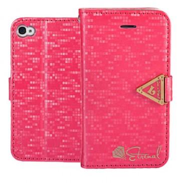 Apple iPhone 4 / 4S Pinkki Leiers Suojakotelo