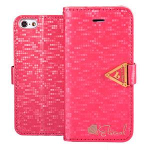 Apple iPhone 5C Pinkki Leiers Suojakotelo