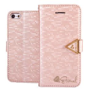 Apple iPhone 5C Vaaleanpunainen Leiers Kotelo