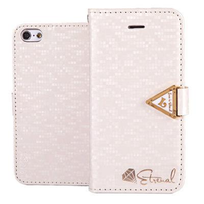 Apple iPhone 5C Valkoinen Leiers Suojakotelo