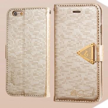 Apple iPhone 6 / 6S Kultainen Leiers Suojakotelo