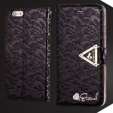 Apple iPhone 6 / 6S Musta Leiers Suojakotelo
