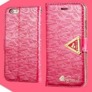 Apple iPhone 6 / 6S Pinkki Leiers Suojakotelo