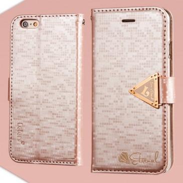 Apple iPhone 6 / 6S Vaaleanpunainen Leiers Kotelo