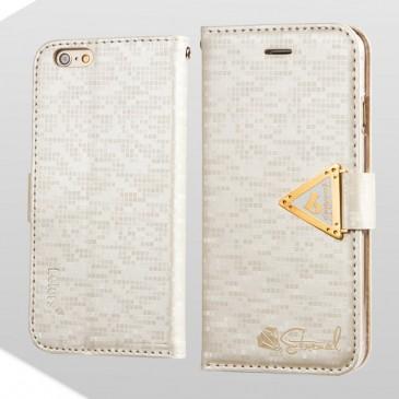 Apple iPhone 6 / 6S Valkoinen Leiers Suojakotelo