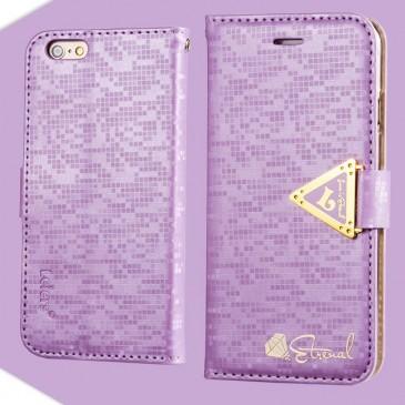 Apple iPhone 6 / 6S Violetti Leiers Suojakotelo