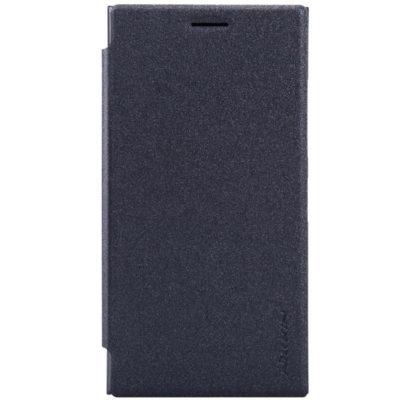 Nokia Lumia 730 / 735 Musta Nillkin Suojakotelo