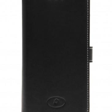 Nokia Lumia 830 Suojakotelo Musta Nahka