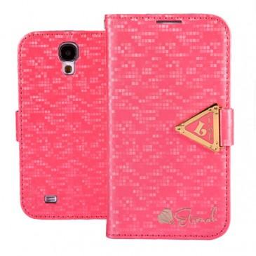 Samsung Galaxy S4 Pinkki Leiers Suojakotelo