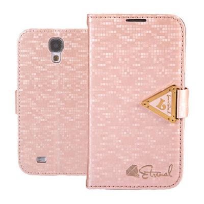 Samsung Galaxy S4 Vaaleanpunainen Leiers Kotelo