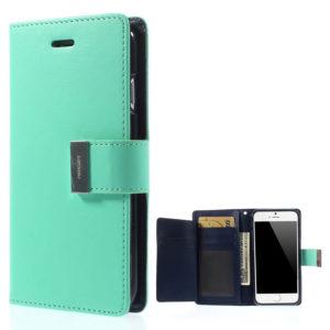 Apple iPhone 6 Plus Kotelo Syaani Rich Diary