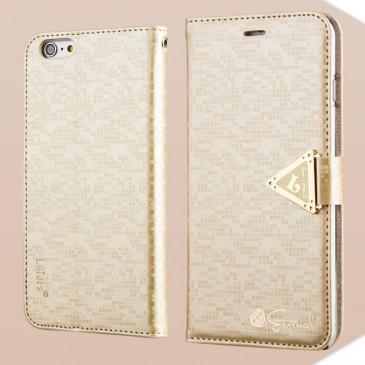 Apple iPhone 6 Plus Suojakotelo Leiers Kulta
