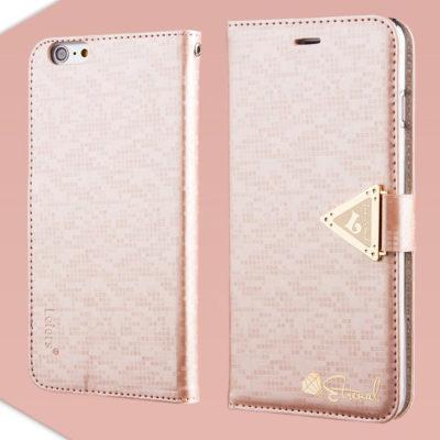 Apple iPhone 6 Plus Vaaleanpunainen Leiers Kotelo