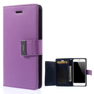 Apple iPhone 6 Plus Violetti Rich Diary Kotelo
