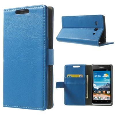 Huawei Ascend Y530 Sininen Lompakko Suojakuori