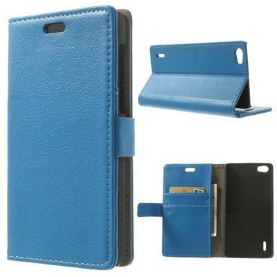 Huawei Honor 6 Sininen Lompakko Suojakotelo